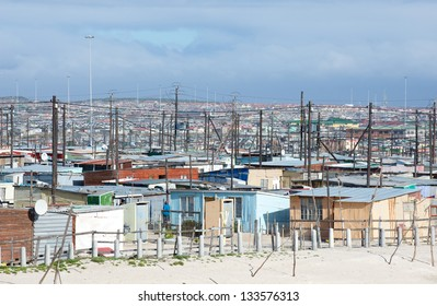 Khayelitsha Township Shacks, Cape Town