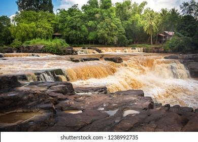 Khek river (Lam Nam khek), Phitsanulok Province, Thailand.