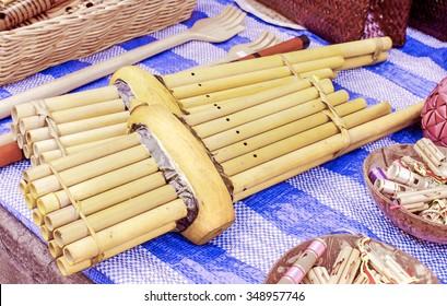 Khene, Thai musical instruments, Khene is a mouth organ of thai origin whose
