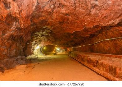 Khewra Salt Mines Interiors, Chakwal, Punjab, Pakistan 23rd January 2017