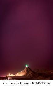 Khezr mountain in Qom city