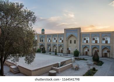 Khiva. Uzbekistan. 1st August 2018. Muhammad Amin Khan Madrasah.