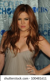 Khloe Kardashian  at the 2011 People's Choice Awards - Arrivals, Nokia Theatre, Los Angeles, CA. 01-05-11