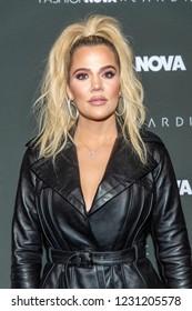 "Khloe Kardashian attends ""Fashion Nova X Cardi B Launch Event"", at BOULEVARD 3, Los Angeles, California on November 14th, 2018"
