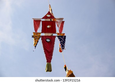 Khmer (Cambodian) lantern decoration for the Khmer New Year every April