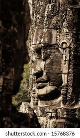Khmer Smile,Bayon Wat,Siem Riep,Cambodia