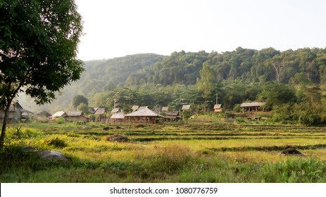 Khmu Village. The Khmu are an ethnic group of Southeast Asia. The majority (88%) live in northern Laos where they constitute the largest minority ethnic group.