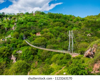 Khndzoresk Swinging Bridge and Old Cave Village, Armenia 4