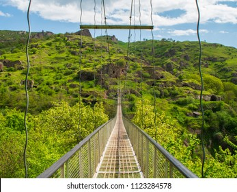 Khndzoresk Swinging Bridge and Old Cave Village, Armenia 15
