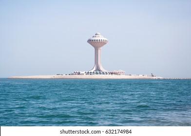 Khobar, Saudi Arabia, 20-Apr-2103: This shot was taken in Khobar, Saudi Arabia. Khobar Tower is the first 5star hotel of Khobar City. I got this shot during my trip to this place.
