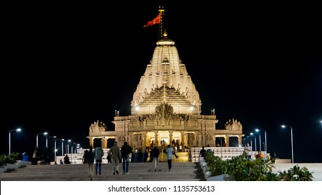 Khodiyar mataji, khodaldham temple at kagvad, jetpur, Rajkot, Gujarat, India