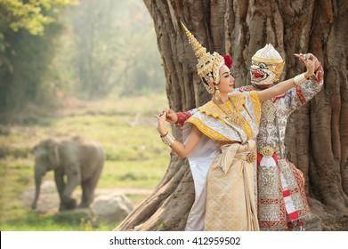 Khon, Dance drama from Thailand