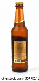 """KHON KAEN - THAILAND - December, 15, 2016: """"illustrative"""" and """"editorial""""  Cayenne  Beerlao  is the generic name of a range of beers produced by the Lao Brewery Company (LBC) of Vientiane, Laos."""
