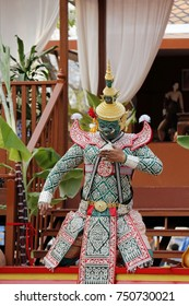 Khon - This kind of show is a dance drama genre from Thailand which still popular for Thai people and tourists. Even this show is a long time acting from ancient Thai culture.