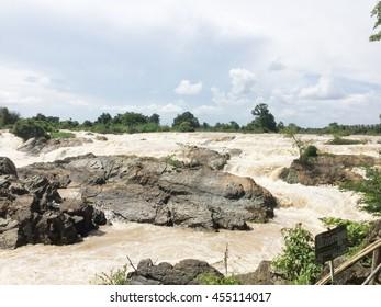 the Khone Phapheng Falls in southern Laos