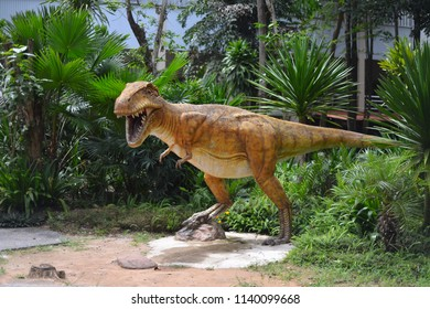 Khonkaen, THAILAND - Jul 22,2018 : Phuwiang Dinosaur Museum is Dinosaur School on Jul 22,2018 in Khonkaen,Thailand.