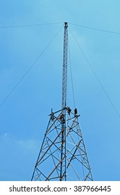 KHON-KHAN-THAILAND-APRIL 29 : Installation assembly of Steel Tower for Transmission line on April 29, 2015 Khon-Khan Province, Thailand.