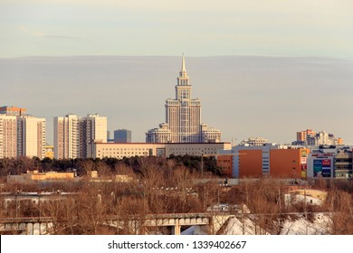 Khoroshyovsky and Sokol District is an administrative raion in Northern Administrative Okrug of Moscow, Russia. Triumph Palace. march 2019