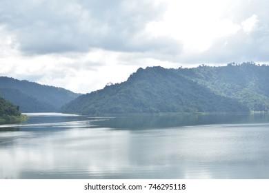 Khun Dan Prakan Chon Dam, Nakornnayok, Thailand