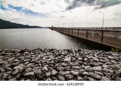 Khun Dan Prakanchol Dam in Thailand