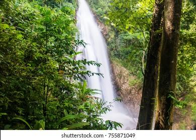Khunkorn waterfall at Chiang Rai province, Thailand.