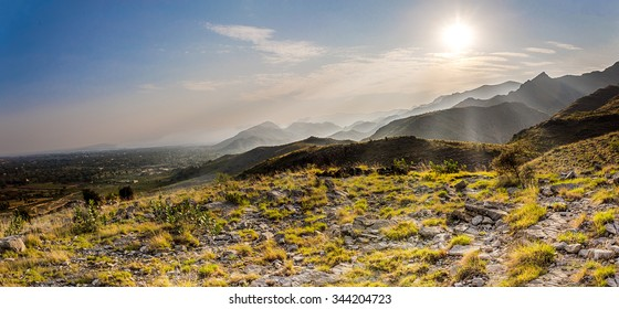 Khyber Pass in Northwest Pakistan