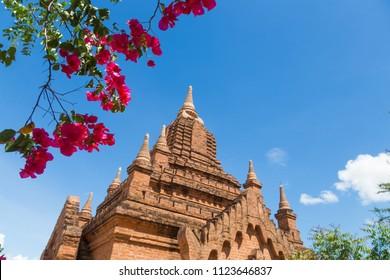 Khymingha Temple in Bagan, Nyaung-U, Myanmar