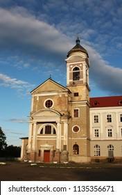 Khyriv ancient church, Ukraine