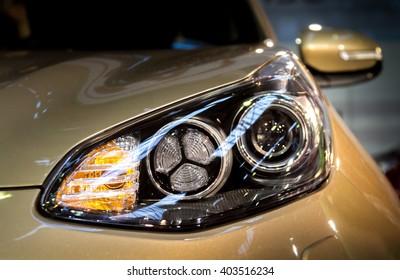 KIA head light