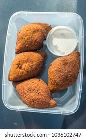 Kibbeh - Middle Eastern meal
