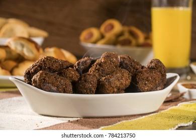 Kibe roast. Brazilian snack.