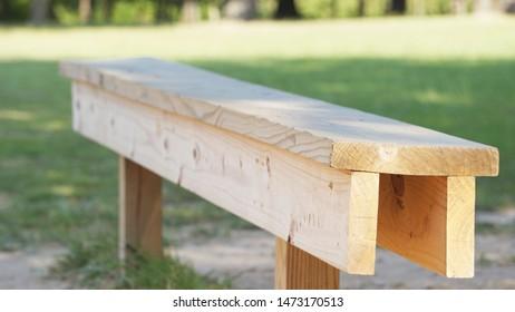 Kickball or Baseball Park Bench