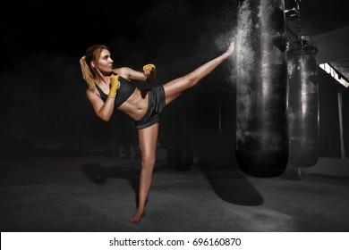 Kickboxing Images Stock Photos Amp Vectors Shutterstock
