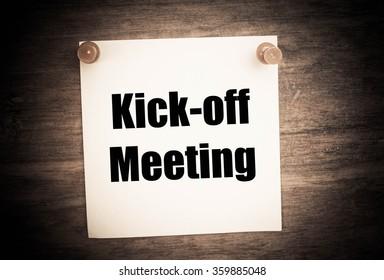 Nachricht zum Auftakt der Sitzung