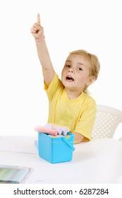 kid - activity in preeschool - ower white