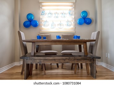 Kid birthday setup ready for guests