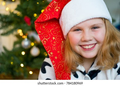 Kid celebrating christmas