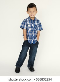Kid Child Studio Shoot Full Length