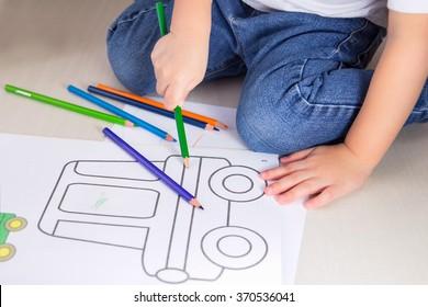 Kids Coloring Images Stock Photos Vectors Shutterstock