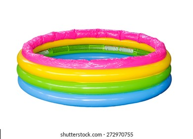 Kid Pool isolated on white with clipping path