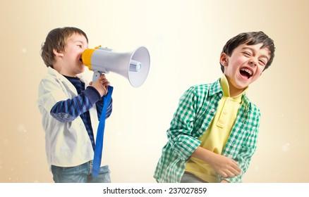 Shouting Kids Images Stock Photos Vectors Shutterstock