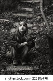 kid sitting