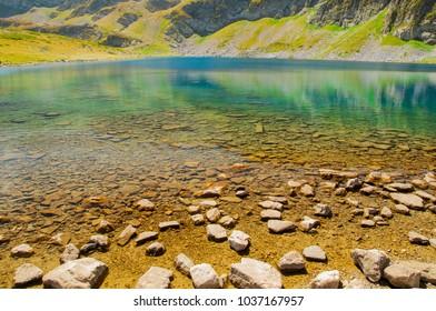 """""""Kidney"""" lake, one of The Seven Rila Lakes, Bulgaria"""