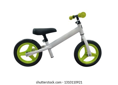 kids bike isolated on white background
