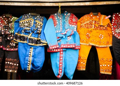 Kids' clothes for display in Ahmedabad