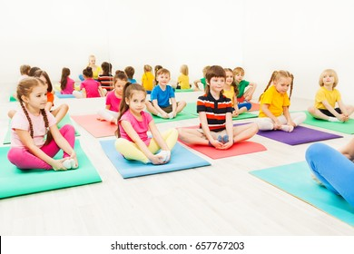kids yoga images stock photos  vectors  shutterstock