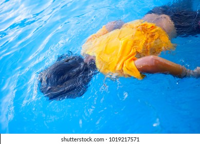 Kids Drowning In The Pool