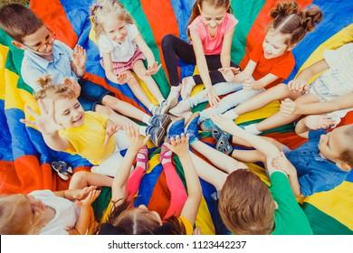 Imágenes, fotos de stock y vectores sobre Indoor Kids Camp Games