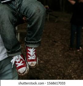 kids in converse