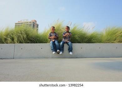 Kids on a Ledge